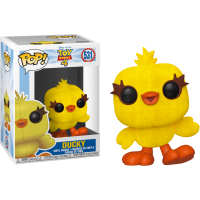 Toy Story 4 - Ducky Flocked Pop! Vinyl Figure