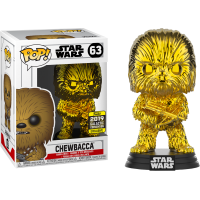 Star Wars - Chewbacca Gold Chrome Pop! Vinyl Figure (2019 Galactic Convention Exclusive)