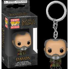 Game of Thrones - Davos Pocket Pop! Vinyl Keychain