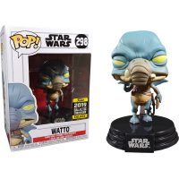 Star Wars Episode I: The Phantom Menace - Watto Pop! Vinyl Figure (2019 Galactic Convention Exclusive)