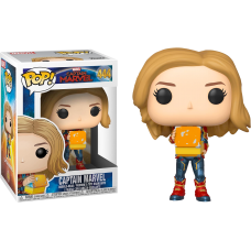 Captain Marvel (2019) - Captain Marvel with Tesseract Pop! Vinyl Figure
