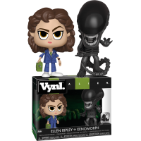 Alien - Ripley and Xenomorph 40th Anniversary Vynl. Vinyl Figure 2-Pack