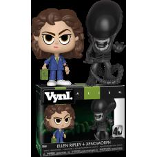 Alien - Ripley and Xenomorph 40th Anniversary Vynl. Vinyl Figure 2-Pack