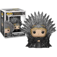 Game of Thrones - Cersei Lannister on Iron Throne Deluxe Pop! Vinyl Figure