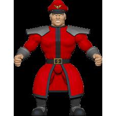 Street Fighter - M. Bison Savage World 5.5 Inch Action Figure