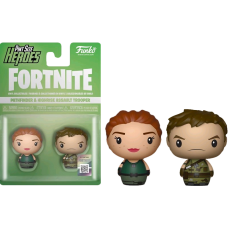 Fortnite - Pathfinder and Highrise Assault Trooper Pint Size Hero 2-pack