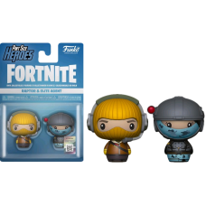 Fortnite - Raptor and Elite Agent Pint Size Hero 2-pack