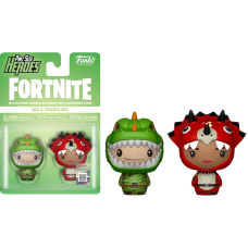 Fortnite - Rex and Tricera Ops Pint Size Hero 2-pack