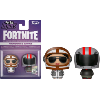Fortnite - Moonwalker & Burnout Pint Size Hero 2-pack