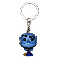 Aladdin - Genie Metallic Pocket Pop! Vinyl Keychain