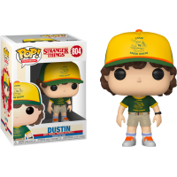 Stranger Things 3 - Dustin in Camp Uniform Pop! Vinyl Figure