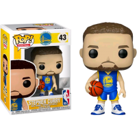 NBA Basketball - Stephen Curry Golden State Warriors Blue Jersey Pop! Vinyl Figure