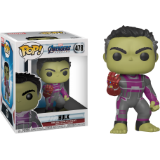 Avengers 4: Endgame - Hulk with Infinity Gauntlet Super Sized 6 Inch Pop! Vinyl Figure