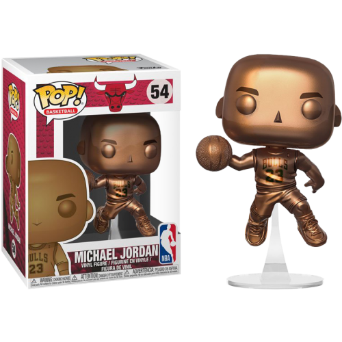NBA Basketball - Michael Jordan Bronzed Pop! Vinyl Figure