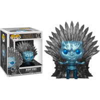Game of Thrones - Night King on Throne Metallic Deluxe Pop! Vinyl Figure