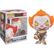 It: Chapter Two - Pennywise with Beaver Hat Pop! Vinyl Figure