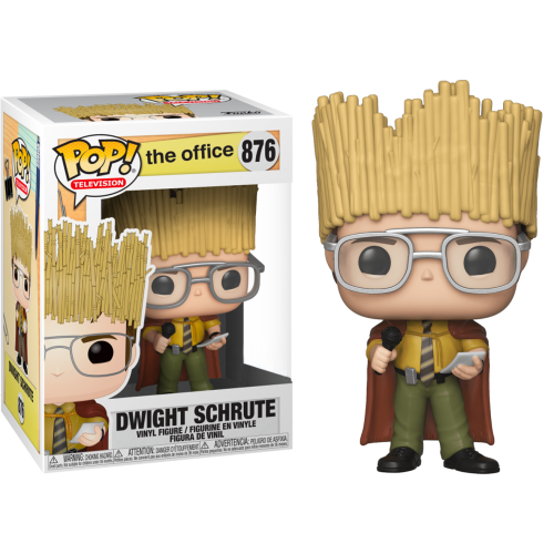 The Office - Dwight Schrute as Hay King Pop! Vinyl Figure