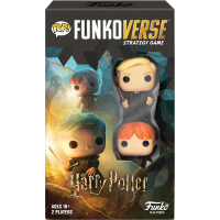 Harry Potter - Ron Weasley & Draco Malfoy Pop! Funkoverse Strategy Game 2-Pack