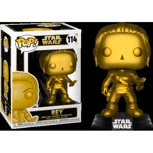 Star Wars - Rey Metallic Gold Pop! Vinyl Figure