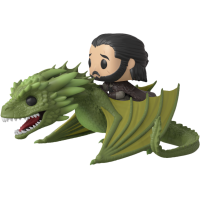 Game Of Thrones - Jon Snow with Rhaegal Pop! Rides Vinyl Figure