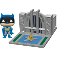 Justice League - Batman with Hall of Justice Pop! Town Vinyl Figure