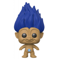 Trolls - Blue Troll with Hair  Pop! Vinyl