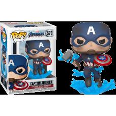 Avengers 4: Endgame - Captain America with Mjolnir Pop! Vinyl Figure