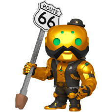 Overwatch - B.O.B. Gold Metallic 6 Inch Super Sized Pop! Vinyl Figure