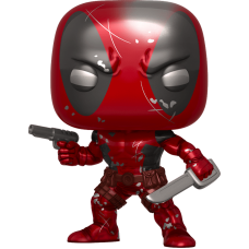 Deadpool - Deadpool First Appearance Metallic 80th Anniversary Pop! Vinyl Figure