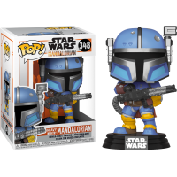 Star Wars: The Mandalorian - Heavy Infantry Mandalorian Pop! Vinyl Figure