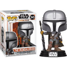 Star Wars: The Mandalorian - The Mandalorian New Pose Pop! Vinyl Figure