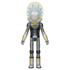 Rick and Morty - Space Suit Rick Metallic US Exclusive Action Figure