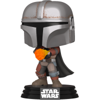 Star Wars: The Mandalorian - The Mandalorian with Flame Pop! Vinyl Figure