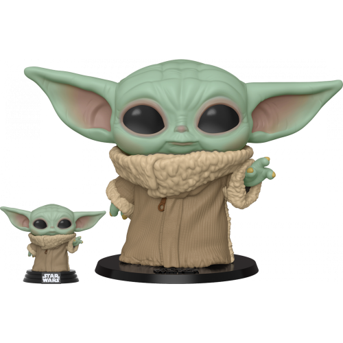Star Wars: The Mandalorian – The Child (Baby Yoda) Life-Size 10 Inch Pop! Vinyl Figure