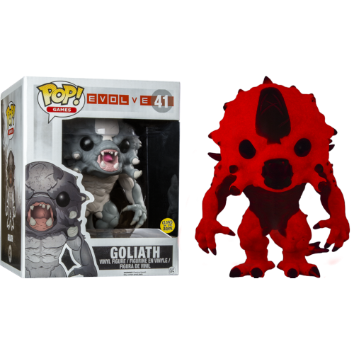 Evolve - Power Up Goliath 6 Inch Super-Sized Glow in The Dark Pop! Vinyl Figure
