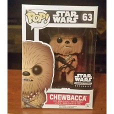 Star Wars: The Force Awakens - Chewbacca Flocked Pop! Vinyl Figure