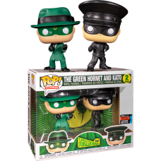 Green Hornet - Green Hornet and Kato 2-Pack Pop! Vinyl Figure (2019 Fall Convention Exclusive)