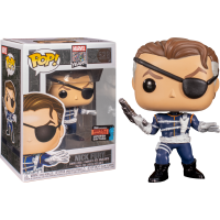 Marvel - First Appearance Nick Fury Pop! Vinyl Figure (2019 Fall Convention Exclusive)