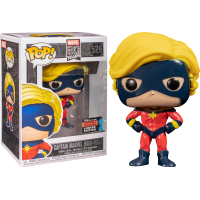 Marvel - First Appearance Captain Marvel Pop! Vinyl Figure (2019 Fall Convention Exclusive)