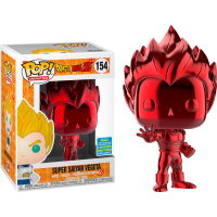 Dragon Ball Z - Red Chrome Vegeta Pop! Vinyl Figure (2019 Summer Convention Exclusive)