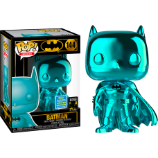 Batman - Teal Chrome Batman Pop! Vinyl Figure (2019 Summer Convention Exclusive)