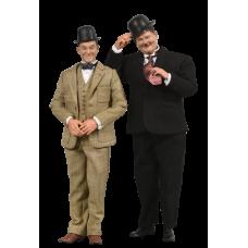 Laurel & Hardy - Laurel & Hardy Classics Suits 1/6th Scale Action Figures 2-Pack