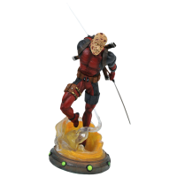 Deadpool - Unmasked Deadpool Marvel Gallery 10 Inch PVC Diorama Statue