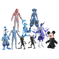 Kingdom Hearts II - Series 3 1/10th Scale Action Figure Assortment (Set of 3)