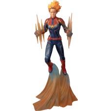 Captain Marvel (2019) - Captain Marvel Binary Marvel Gallery 11 Inch PVC Diorama Statue