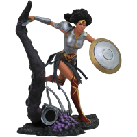 Dark Nights: Metal - Wonder Woman DC Gallery 9 inch PVC Diorama Statue