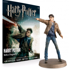 Harry Potter - Harry (Battle Scene) 1:16 Figure & Magazine