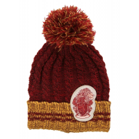 Harry Potter - Gryffindor Heathered Pom Pom Beanie