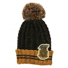 Harry Potter - Hufflepuff Heathered Pom Pom Beanie