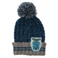 Harry Potter - Ravenclaw Heathered Pom Pom Beanie